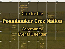 Poundmaker Events Calendar